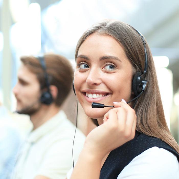 operatrice téléphonique