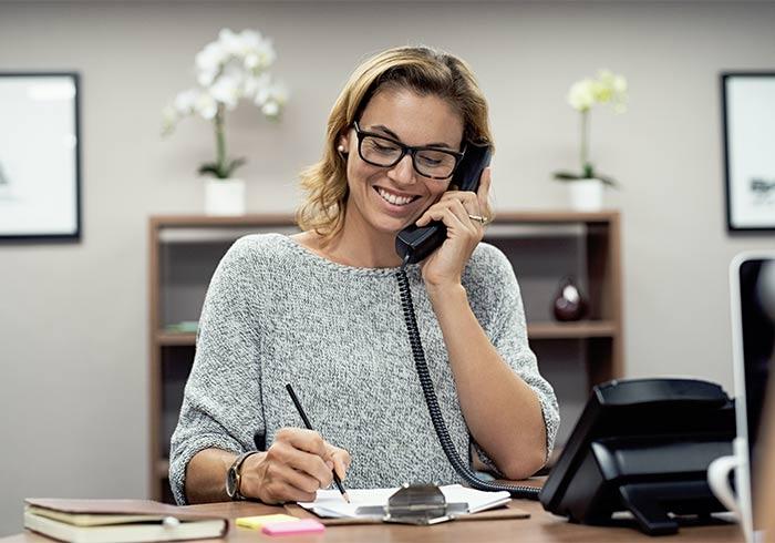 secretaire telephonique